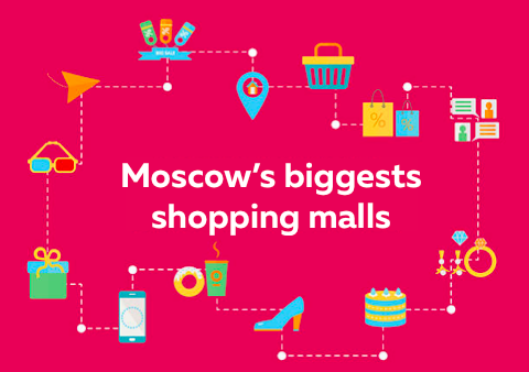 10 most visited Moscow shopping malls