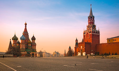 Inspiring places for incentive tours to Russia